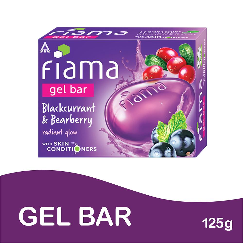 Fiama Black Current and Bearberry Gel Bar Soap | 125G