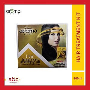 Aroma Leafs Hair Treatment Therapy Kit – 400ml