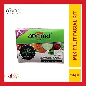 Aroma Leafs Mix Fruit Facial Kit, 5 IN 1 Spa Facial Therapy -125gm