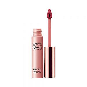 Lakme 9 to 5 Weightless Mousse Lip & Cheek Color, Plum Feather|9 g